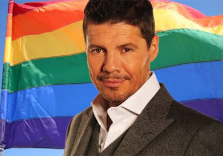 "Hacker: ""Tinelli es gay"""
