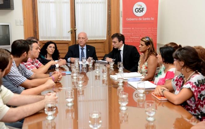 VOX se reunió con el Gobernador Antonio Bonfatti