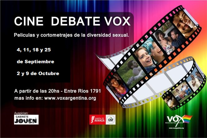 Folleto Oficial Cine Debate Vox